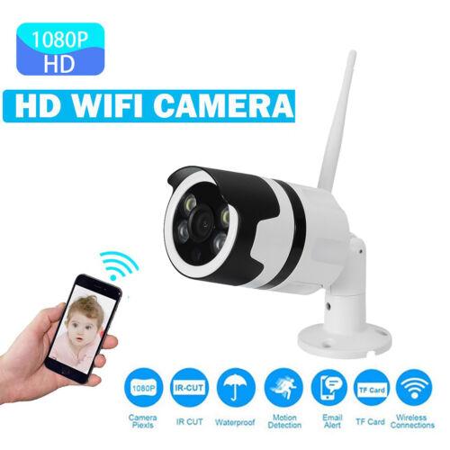 Outdoor 1080P HD Netzwerk IP Kamera CCTV Außen Wlan Überwachungskamera IR DE