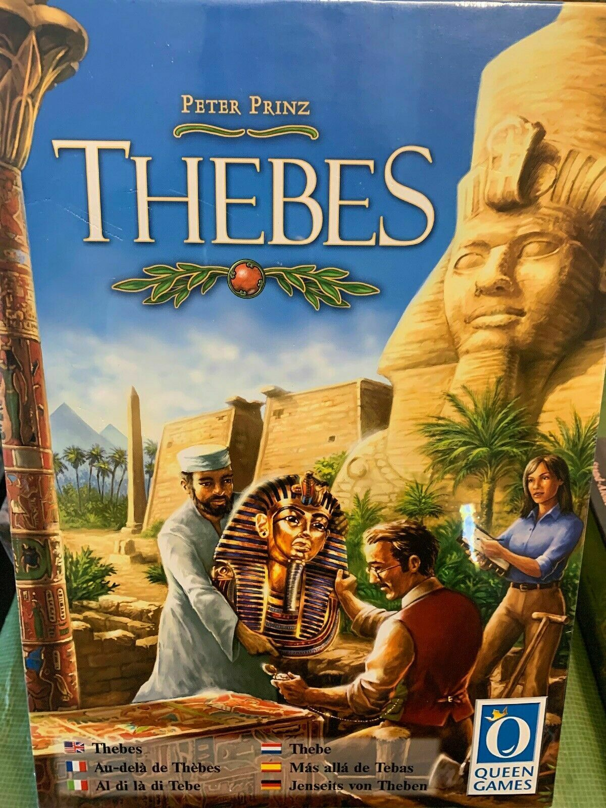Thebes Board Game - NEW SEALED