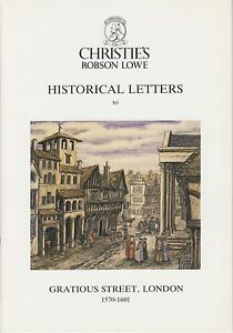 Historical-Letters-to-Gratious-St-London-by-Robson-Lowe-NEW