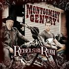 Rebels on the Run by Montgomery Gentry (CD, Oct-2011, Average Joe's)