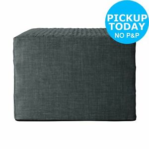 huge selection of 3af42 2a51b Argos Home Prim Fabric Single Ottoman Bed - Charcoal | eBay