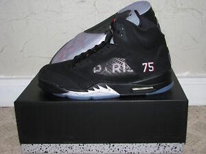 to buy 79f0c 9b96f Image is loading PSG-x-Nike-Air-Jordan-V-5-Retro-
