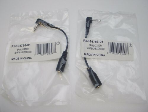 2 Packs Plantronics HL10 Busy Light Extension Cable 3.5mm Female to 3.5mm Male L