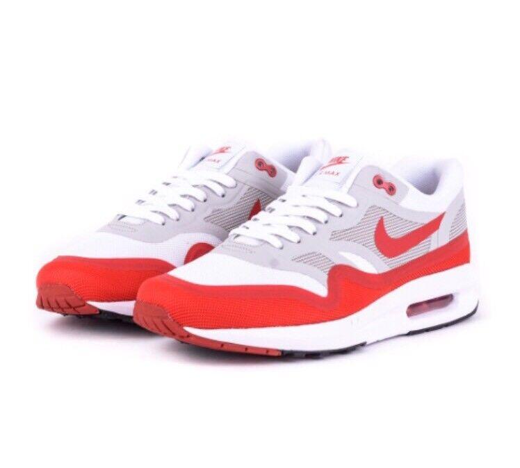 Nike air max lunar 1 sz 9 bianco - sport rosso grigio og vela sport - scarpe da corsa 654469-101 2c513c