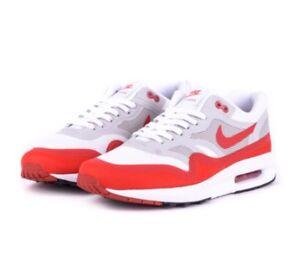 100% Original Outdoor Nike Air Max 1 Lunar OG White Red Year Air Cushion Running Shoe