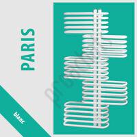 Radiateur Salle De Bains Sèche- Serviettes Paris Blanc / Anthracite
