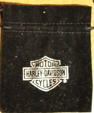 Harley Davidson Drawstring Jewerly Poker Chip Accessories Pouch Cloth Drawstring