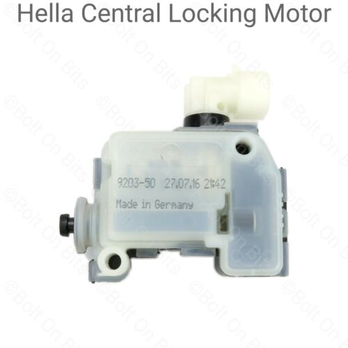 Genuine Fuel Lid Cap Flap Locking Motor Actuator Solenoid for Vauxhall Mokka