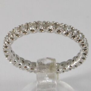 ANILLO-DE-ORO-BLANCO-750-18-CT-VERETTA-ETERNITY-CON-DIAMANTE-QUILATES-0-66