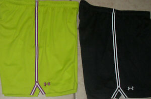 NWT-WOMENS-UNDER-ARMOUR-120739-POLYESTER-HEAT-GEAR-SKILL-MESH-SHORTS-SELECT-SIZE