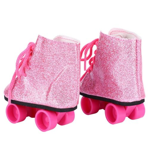 Fashionable Doll Toy Accessories Doll Roller Skate Shoes for 18inch Baby Doll#K9