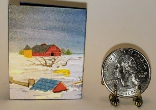 1:6 SCALE MINIATURE BOOK THE HAPPY VALLEY MYSTERY  TRIXIE BELDEN PLAYSCALE