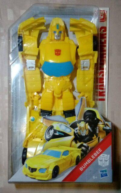 Grande Figurine 26cm Bumblebee W Autobot Transformers Titan Changers Hero Series