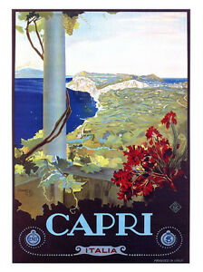 ITALY A3 vintage retro travel /& railways posters art print Wall Decor #3