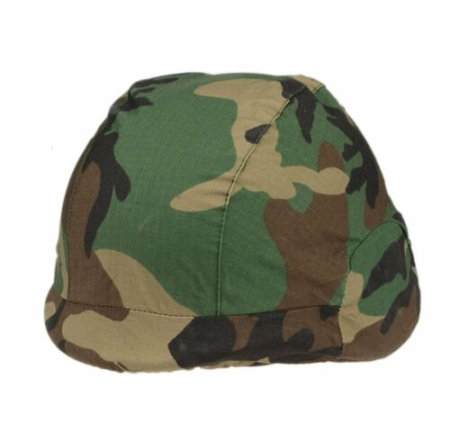 US Pasgt Swat Airsoft M88 Style Plastic Military Tactical Helmet With Cover BK