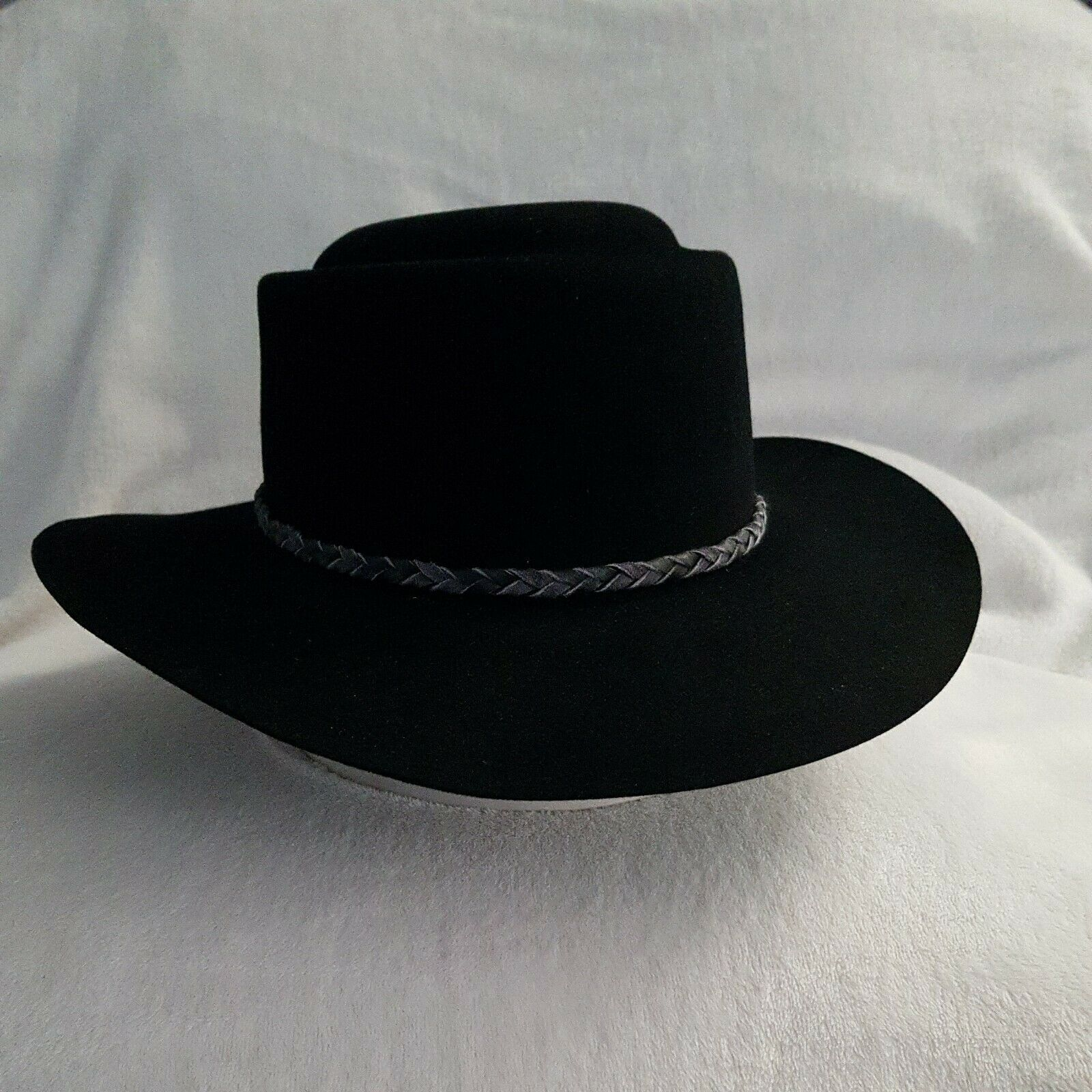 Stetson Gunnison Black Western Hat, Wool Felt, Hat, New and Unused