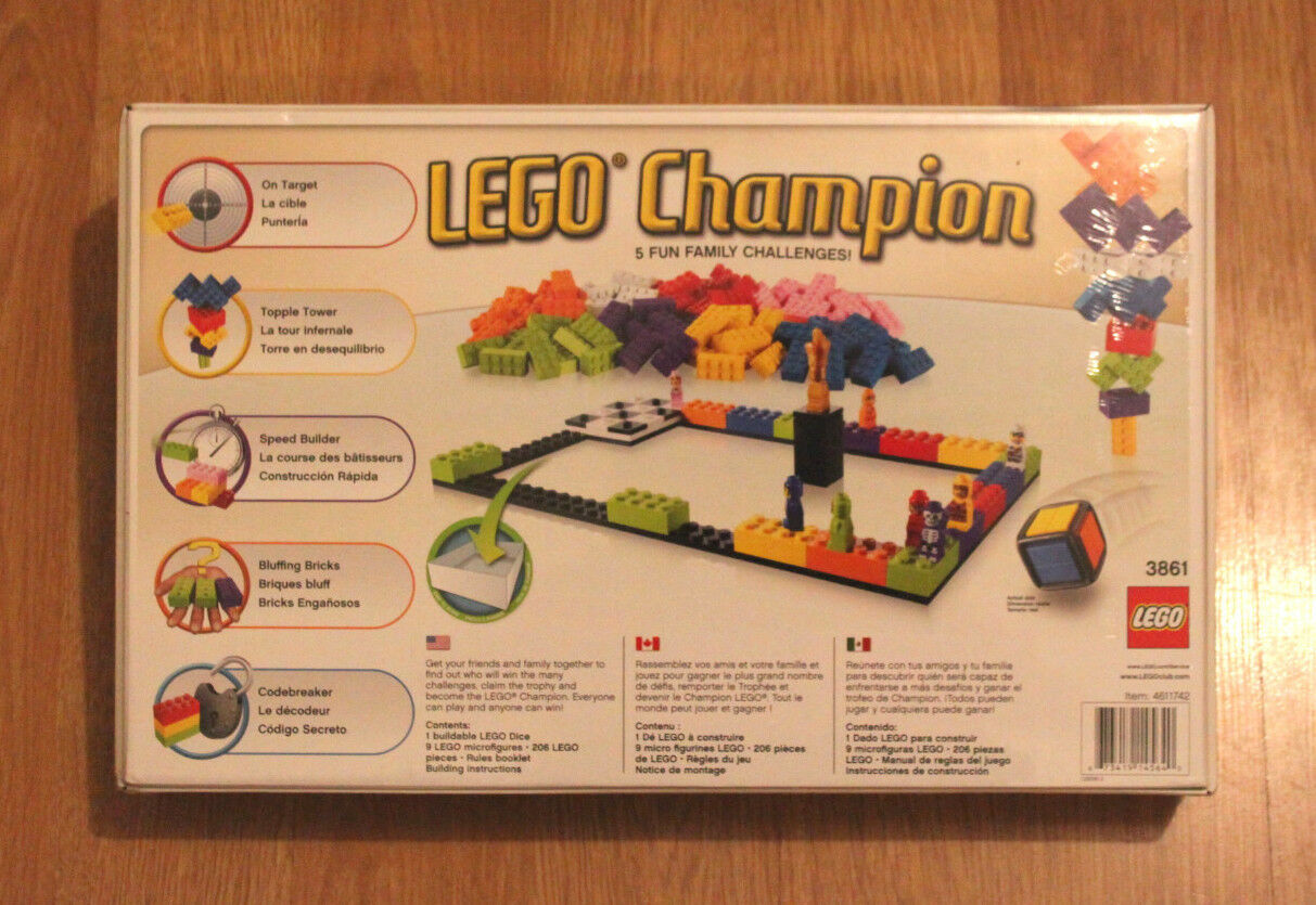 LEGO Champion Game 5 Fun Family Family Family Challenges  7+ 6ff0c9