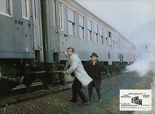 YVES MONTAND  UN SOIR... UN TRAIN 1968 VINTAGE PHOTO LOBBY CARD N°4