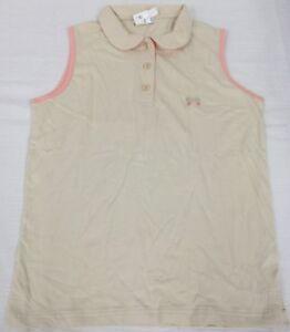 JACADI Girl/'s Trompette Chambray Sleevless Dress Sz 12 Years NWT $62