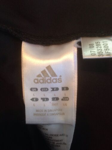 Athletic Ked Adidas nera Large Sport Running allenamento Gym Donna Pants Maglia Tr8TqZv