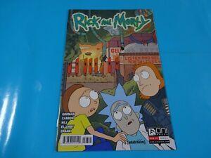 Rick-and-Morty-1st-print-comics-Oni-7-Nice-Comic-book