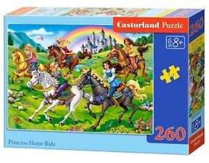 Castorland-B-27484-1-Princesse-Cheval-Ride-Puzzle-260-Pieces-Neuf