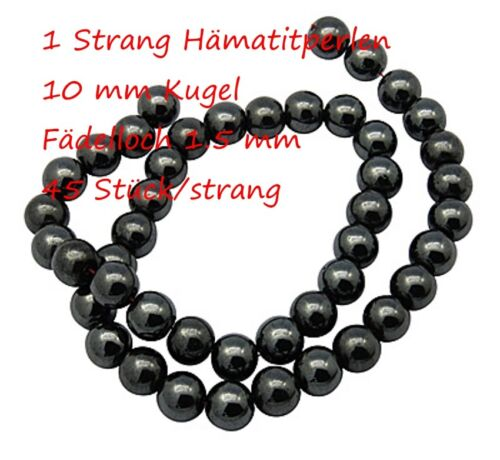 1 strang gemme perles magn hématite bijoux perles Gemstone pierre naturelle perles