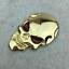 1pc-3D-Metal-Skeleton-Skull-Car-Motorcycle-Side-Trunk-Emblem-Badge-Decal-Sticker miniature 6