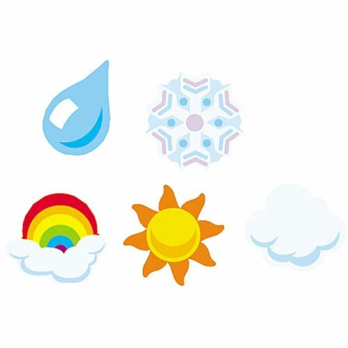 Weather superShapes Stickers Trend Enterprises Inc T-46039