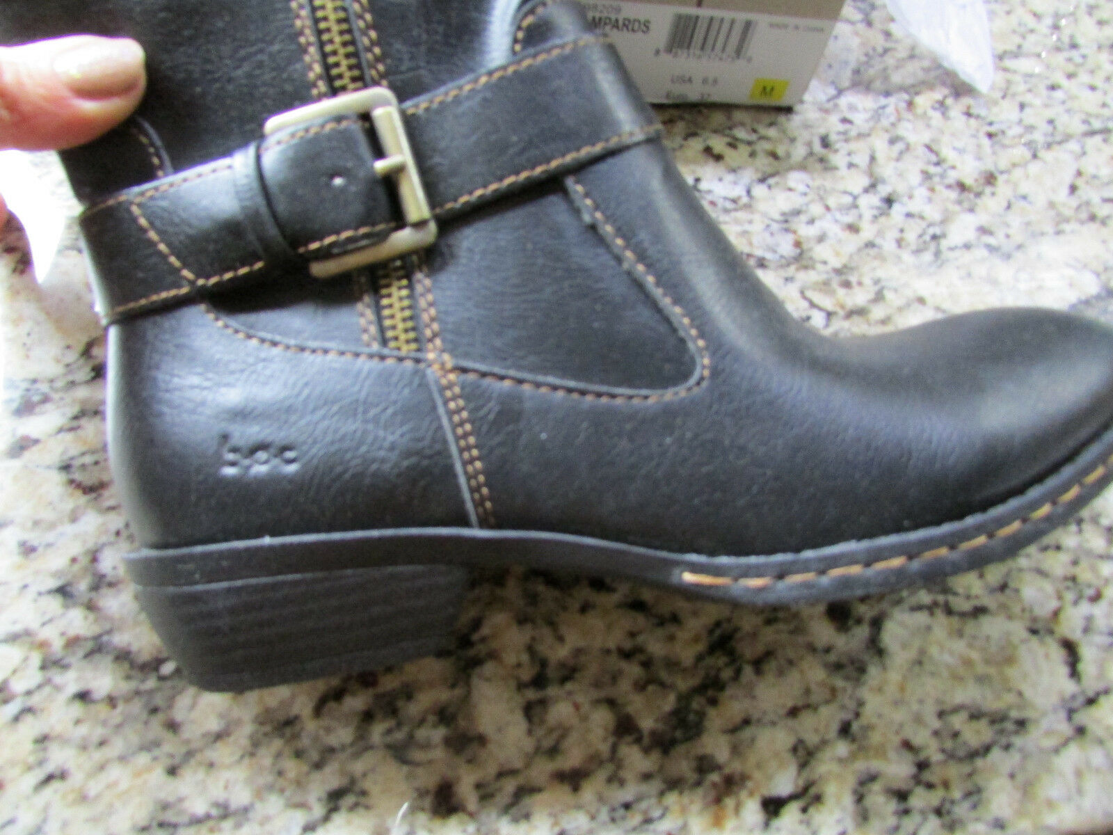 NEW BORN B.O.C LAMPARDS BLACK BLACK BLACK TALL HIGH  Stiefel Damenschuhe 6.5 C98209 BLACK PU 78d52e