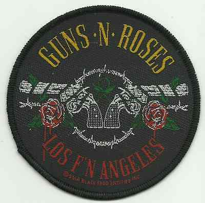GUNS N ROSES los fn angeles 2014 - WOVEN SEW ON PATCH official (sealed)