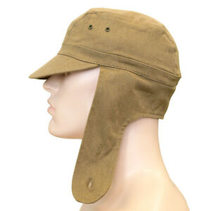 e3233f4b2 Details about Russian Army Afghan Cap Military Soldier Hat Soviet USSR  Uniform Khaki+Red Star