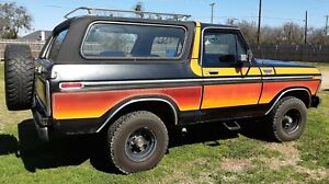 1979 Ford Bronco free wheelin | eBay