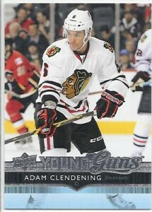ADAM-CLENDENING-2014-15-Upper-Deck-YOUNG-GUNS-ROOKIE-CARD-RC-481