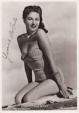 Yvonne de Carlo Originalautogramm auf Großfoto - The Munsters