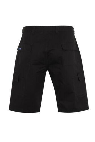 armée police sécurité militaire short Homme Cargo Combat Work Shorts Noir 28-52