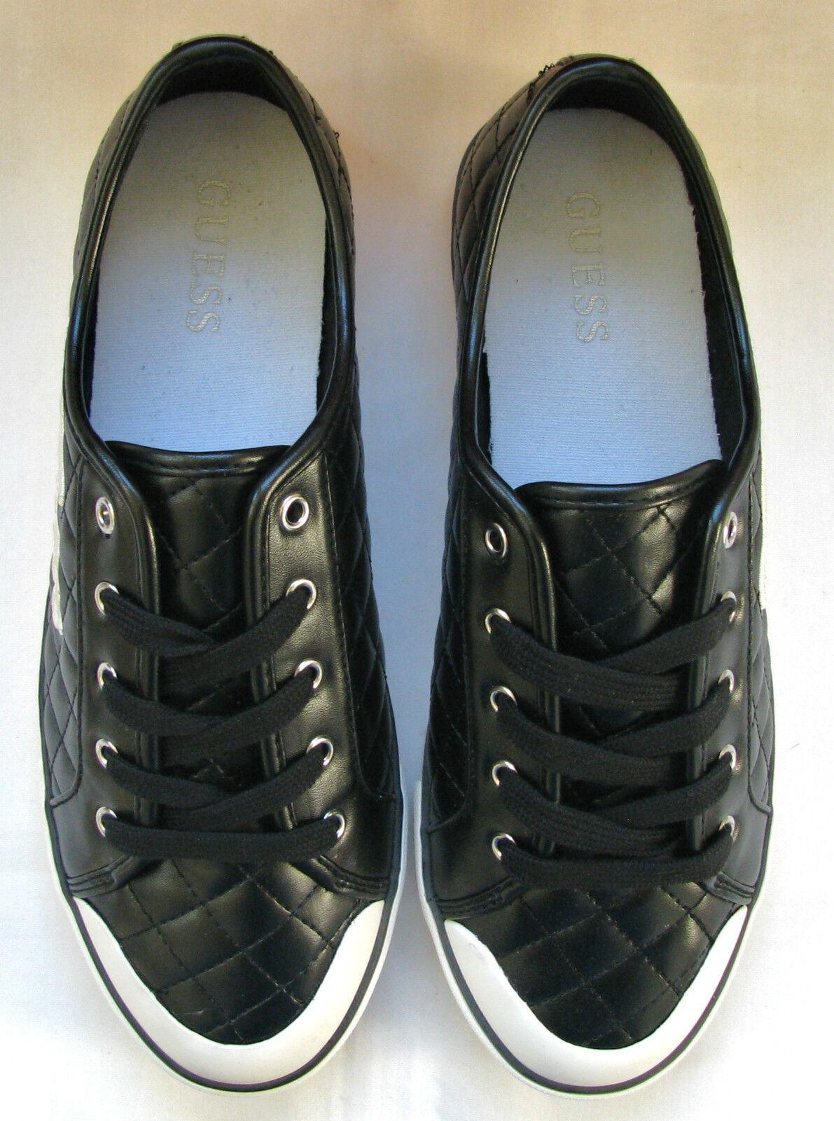 Neu Guess Braxton Schwarz & Weiß Kariert Schuhe Stich Trimm + Logo Schuhe Kariert Größe 8.5 Ovp ab3a8e