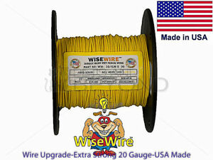 Wise Wire Heavy Duty Solid Dog Fence Wire 20 14 Gauge 500