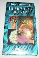 David Attenborough's Private Life of Plants V. 5 - Living Together(VHS) NEW!