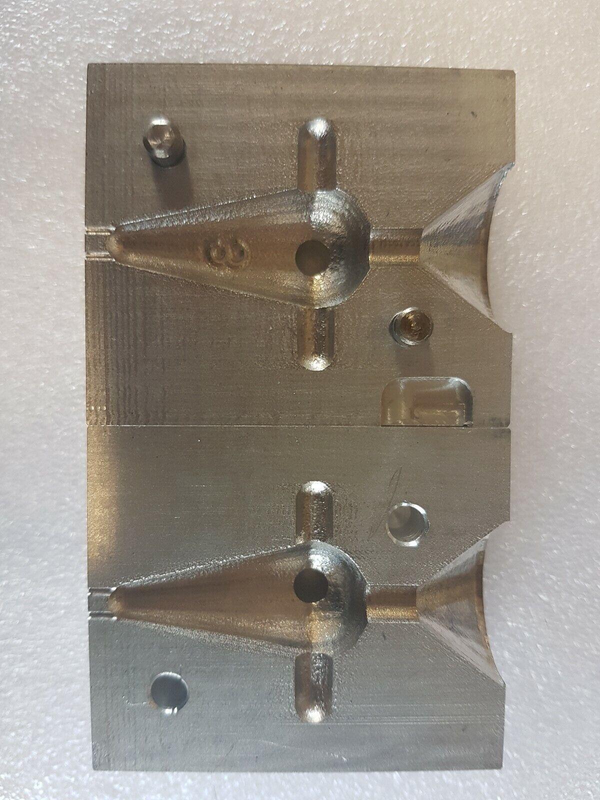 VISSERSERIJMARKER LOED MOLDEN 1X3OZ 1X4OZ CNC ALUMINIUM