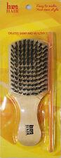 Magic Club Beard & Hair Brush 100% Natural Boar Bristles Best Quality Brush