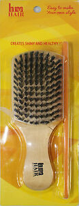 Club-Beard-amp-Hair-Brush-With-Comb-100-Natural-Boar-Bristles-C008-BEST-QUALITY
