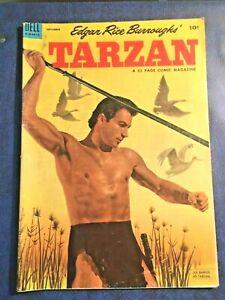 DELL-COMICS-TARZAN-48-September-1953-Yogi-Berra-N-Y-Yankees