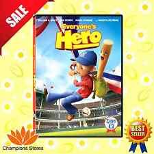 Everyone's Hero DVD Cartoon Children Kid Baseball Movie Family Game FREE SHIP