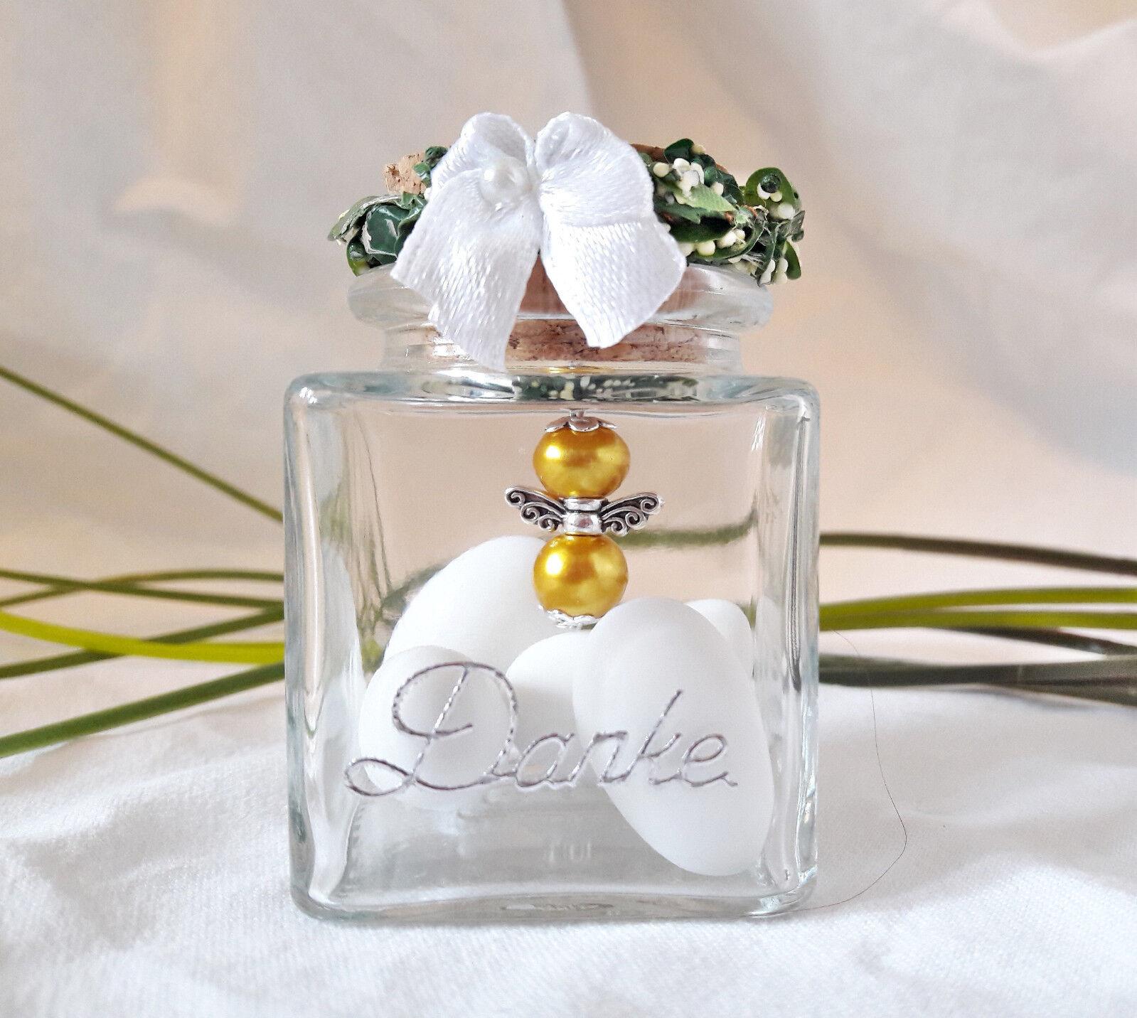 15x Schutzengel im Glas Gold  Hochzeit,Danke,Gastgeschenk,Hochzeitsmandeln | | | Deutschland Berlin  | Berühmter Laden  cf5033
