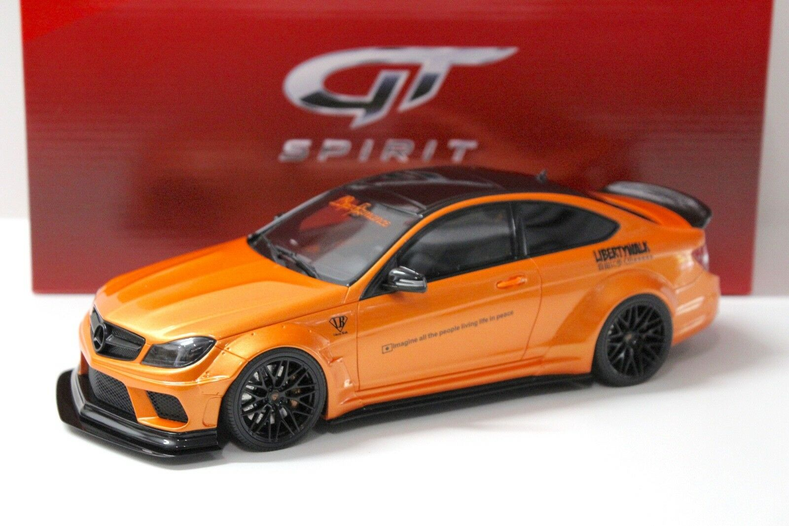 1:18 GT Spirit Mercedes c63 c63 c63 AMG LB Liberty Walk Orange New chez Premium-modelcars | D'adopter La Technologie De Pointe
