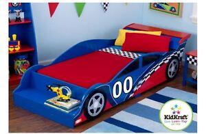 Race Car Kids Bed Toddler Furniture Bedroom Beds Cars Boys Girls