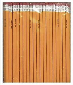 Yellow-2-Pencils-BULK-See-Selections-NEW