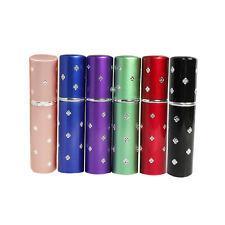 5ML 6pcs Amazing Travel Perfume Atomizer Refillable Mini Perfume Bottle Spray N3