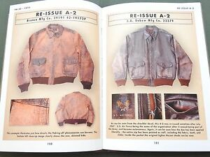 SIGNED-NUMBERED-EASTMAN-034-TYPE-A-2-FLIGHT-JACKET-034-US-AAF-WW2-REFERENCE-BOOK-MINT